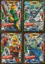 LEGO Ninjago Serie 5 Trading Card Game - 4 x Limitierte Auflage LE12-LE15