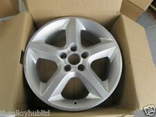 "GENUINE VAUXHALL (GM) ZAFIRA/ASTRA 5 SPOKE 17""INCH SINGLE SILVER ALLOY WHEEL X1"