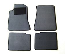 Passform-Velours-Fußmatten für Opel Omega A in grau NEU