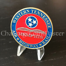 C55 Home Land Security TSA Western Tennessee Air Highway Rail Challenge Coin