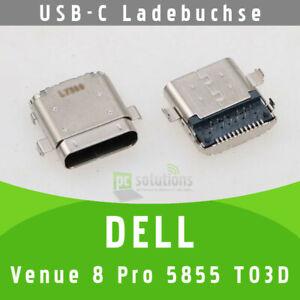 ✅DELL Venue 8 Pro 5855 T03D USB-C Buchse Ladebuchse Socket Port Connector