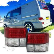 REAR TAIL LED LIGHTS RED-CLEAR FOR VW BUS T4 90-03 MULTIVAN TRANSPORTER