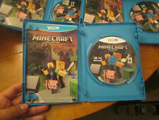 Minecraft: Wii U Edition Nintendo Wii U COMPLETE EXCELLENT WORKS PERFECTLY