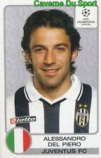 150 DEL PIERO ITALIA JUVENTUS STICKER PANINI CHAMPIONS LEAGUE 2001-2002