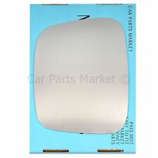 Left Passenger side Wing door mirror glass for VW Caddy 2004-2015