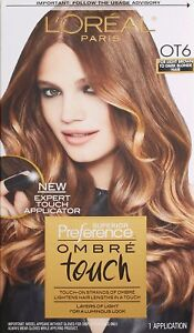 L'Oreal Superior Preference Ombre Touch OT6 Light Brown/Dark Blonde *Twin Pack*