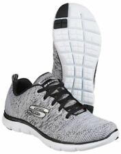 Baskets flex appeals gris Skechers pour femme