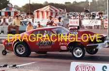 """""""Ohio"""" George Montgomery """"427"""" S.O.H.C. 1968 Ford Mustang Gasser Launch PHOTO!"""