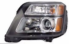 GMC TERRAIN DENALI 2013 LEFT DRIVER HEADLIGHT HEAD LIGHT FRONT LAMP W/BULBS