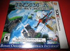 Rodea the Sky Soldier Nintendo 3DS Bonus* Original Soundtrack - Factory Sealed!