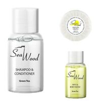 Hotel B&B Welcome Pack 300 units Shampoo, Shower Gel and soap  by Seawood