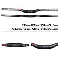 Race Face NEXT 3k Matte Carbon Fiber Handlebar 31.8mm Riser/Flat Bar For MTB