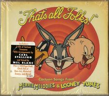 NEW That's All Folks! Merrie Melodies & Looney Tunes Cartoon Soundtrack Songs CD