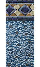 "24x52"" Ft Round Unibead Mosaic Diamond Above Ground Swimming Pool Liner-25 Gauge"