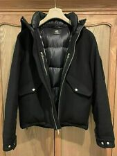 Paul Smith Mens Wool/Cashmere Down Puffer Jacket Size S-Worn Once-Excellent Con.