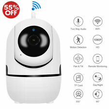 1080P HD Smart Home Wireless Security IP Camera Wi-Fi IR Night Baby Monitor CCTV