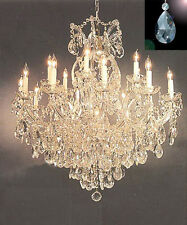Maria Theresa Lighting Chandelier Dressed w/ High Quality Diamond Cut Crystals!