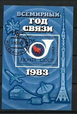 Russia 1983 SG#MS5310 World Communications Year Cto Used M/S #A38179
