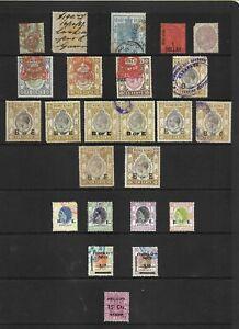 Hong Kong Revenues   24 stamps