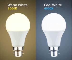 LED 12W LED BC B22 GLS Light Bulb Energy Saving Lamp Cool white Warm White