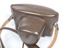 Leicaflex i leicaflex sl duro funda de cuero de gruesa de cuero con cinturón incl. Strap