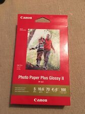 Canon PP-301 4X6 100AMR/OCN Photo Paper Plus Glossy II