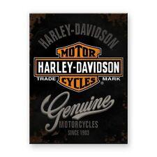 Magnets Harley Davidson Original Custom (HD14225) motorcycles moto biker chopper