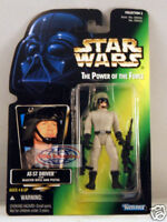 Star Wars Power of the Force Green Card - AT-ST Driver Action Figure