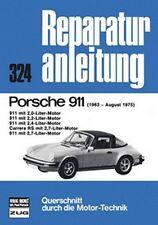 WERKSTATTHANDBUCH REPARATURANLEITUNG WARTUNG 324 PORSCHE 911