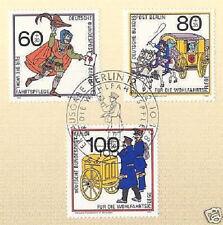 Berlin 1989: Postgeschichte! Wohlfahrt Nr. 852-854 mit Ersttagssonderstempel! 1A