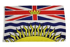 """BRITISH COLUMBIA - Canada Provincial 3"""" X 5"""" Feet Large FLAG BANNER ... New"""