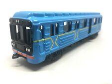 Ukraine Underground Train Metal Model Technopark Railway Carriage 1/87 Scale