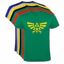 Camiseta Zelda Hyrule logo hombre, tallas y colores