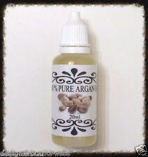 100% Pure Organic Argan Oil Dry Hair Treatment Mask Skin Serum Moisturizer Nails