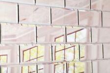 Piastrelle in argento in vetro per pavimenti per il bricolage e fai da te