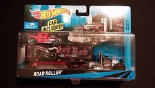 2013 HOT WHEELS Big Set Road Roller Semi Mack Truck Hot Rat Rod Car Bone Shaker