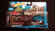 2013 HOT WHEELS Big Set Road Roller Semi Mack Truck Hot Rat Rod Car Bone Shaker