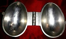 N°286 - ANCIEN MOULE A GLACE EN ETAIN-OEUF - NO CHOCOLAT CANDY MOLD ICE-