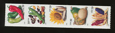 USA  4003-4007a, Food Crops, 39ct S/A strip of five, VF MNH