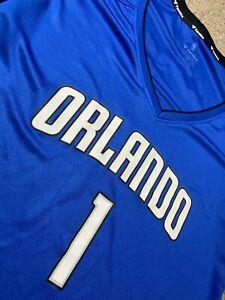 Jonathan Isaac Orlando Magic Jersey#1 NBA Fanatics Women's Small Blue Basketball