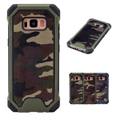 Hybrid Shockproof Camo Army Armor Hard Case Cover For Samsung Galaxy Note9 S9 S8