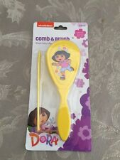 Dora The Explorer Baby Brush and Comb Set Free Shipping New