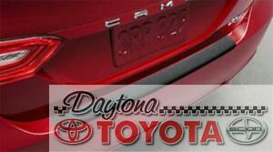 OEM TOYOTA CAMRY REAR BUMPER PROTECTOR BLACK PT929-03181 FITS 2018-2019 SE XSE