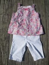 Hanna Andersson Gap Kids ~ Girls Summer Outfit ~ Size 6