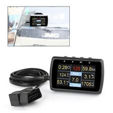 OBD2 Gauge & Holder Driving Speed Meter Fuel Water Temp Digital Display well