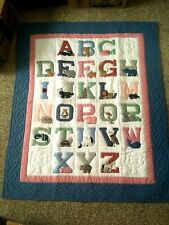 Vintage Regency Creations ABC Baby Quilt Wall Hanging