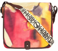 Chanel Authentic CC Logo Flower Power Tie Dye Messenger Crossbody Bag $4300 Rare
