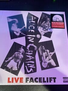 Alice In Chains. Facelift Live Vinyl. Record Store Day Exclusive.