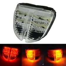 LED Brake Tail Light Turn Signal Lamp For Suzuki GSXR600 GSXR750 2006 2007 Clear