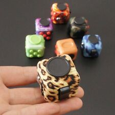 NEW FIDGET CUBE STRESS ANXIETY RELEIF DESK TOY FOR ADULT KIDS NEW 6 SIDED 2017